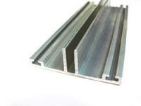 Нижний алюминиевый профиль для поликарбоната