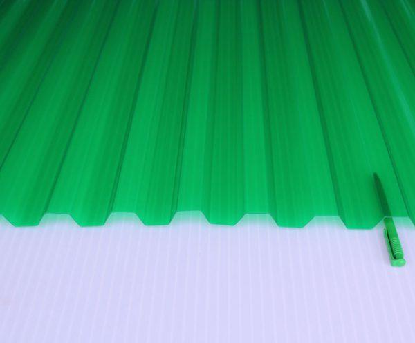 Прозрачный шифер Salux зеленый 70/18